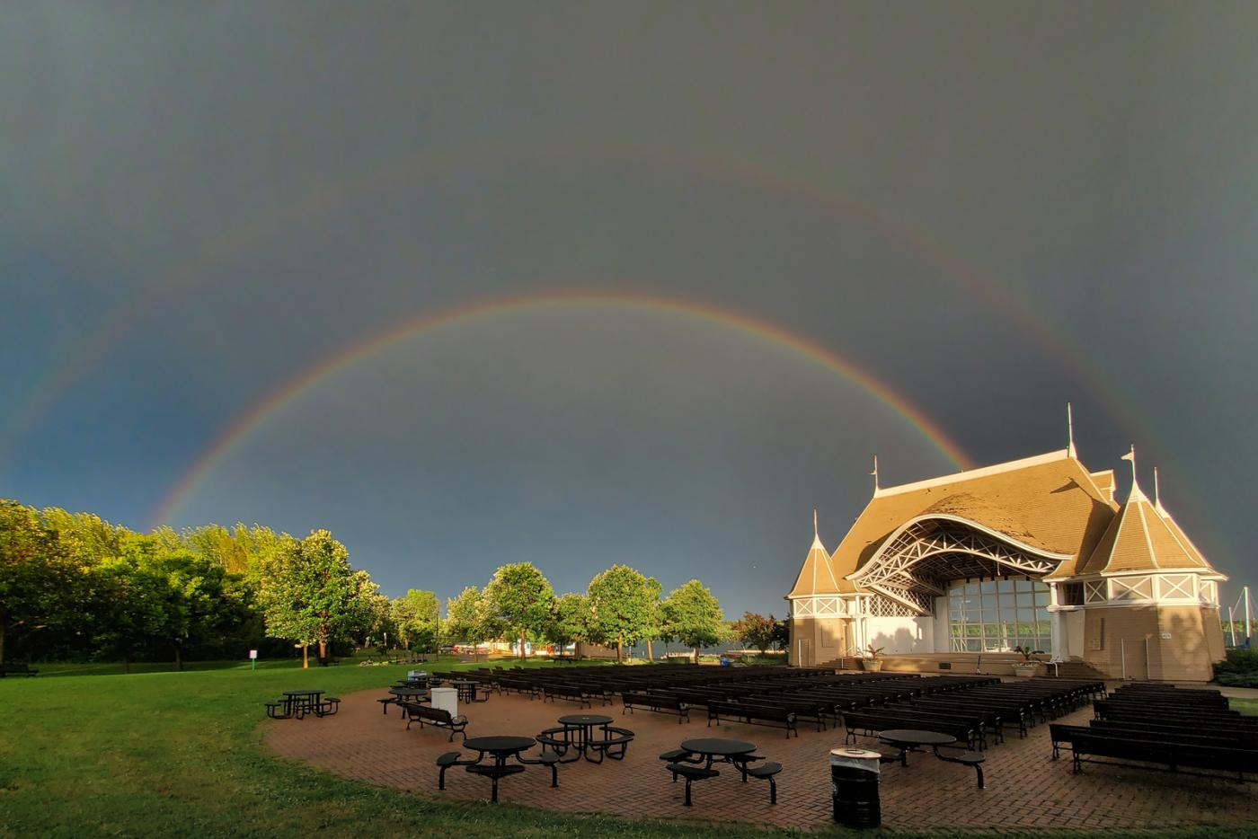Lake Harriet Bandshell Rainbow